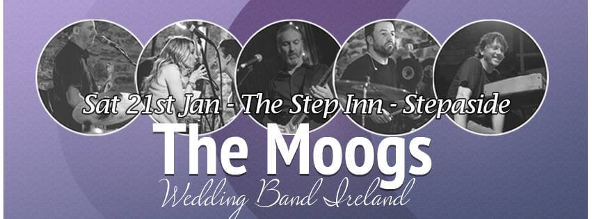themoogs-wedding = band Ireland - showcase January 2016 -