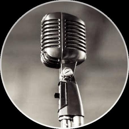 A Vintage Wedding Microphone